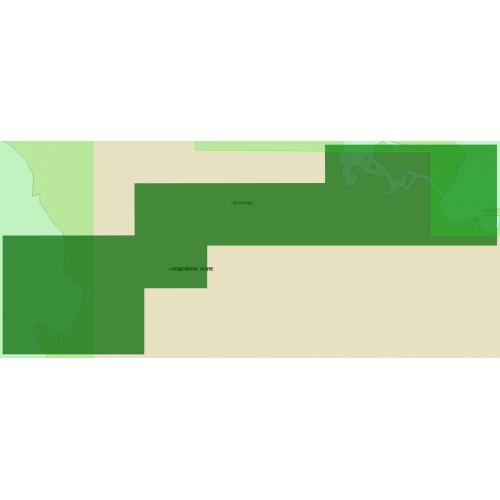Карта глубин - Свирь