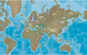 Рекомендации по работе с картами С-MAP