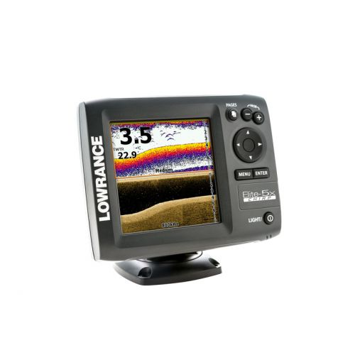 Эхолот Lowrance Elite-5x CHIRP  без датчика