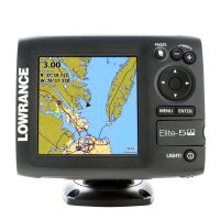 Картплоттер Lowrance Elite-5m HD GPS