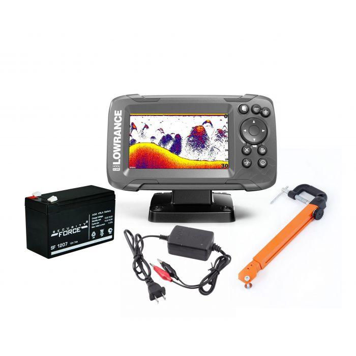Эхолот HOOK2-4x GPS Bullet комплект