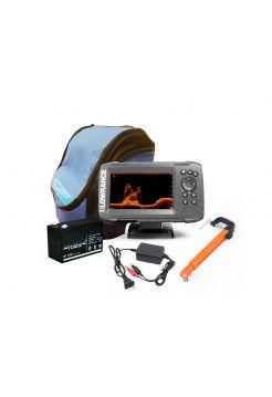 Эхолот HOOK2-5x GPS SplitShot комплект с сумкой
