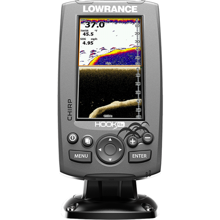 Lowrance HOOK-4x Mid/High/DownScan Эхолот