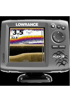 Lowrance HOOK-5x Mid/High/DownScan Эхолот