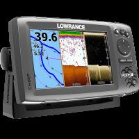Lowrance HOOK-7 Mid/High/DownScan Эхолот Картплоттер
