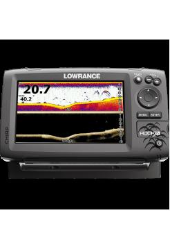 Lowrance HOOK-7x Mid/High/DownScan Эхолот