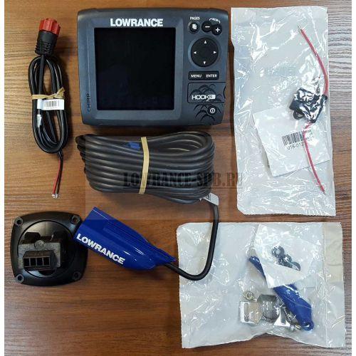 Lowrance HOOK-5 Mid/High/DownScan Эхолот Картплоттер