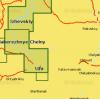 Карта глубин - Река Белая и верхняя Кама